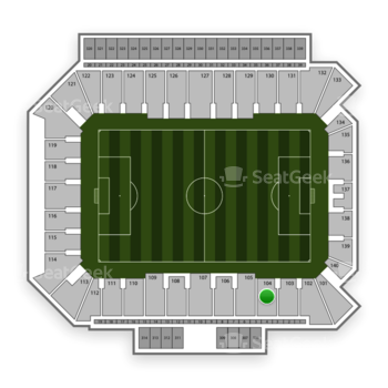 Philadelphia Union at Talen Energy Stadium Section 104 View