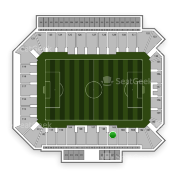 Philadelphia Union at Talen Energy Stadium Section 105 View