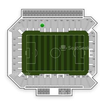Philadelphia Union at Talen Energy Stadium Section 125 View