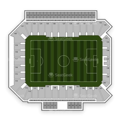 Philadelphia Union Seating Chart