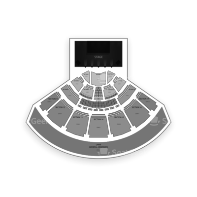 MidFlorida Credit Union Amphitheatre at the Florida State Fairgrounds seating chart 5 Seconds of Summer