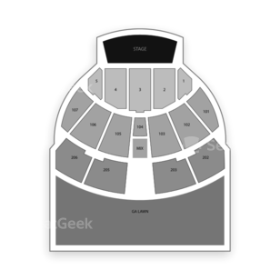 Austin360 Amphitheater Seating Chart Concert