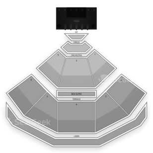Pacific Amphitheatre Seating Chart Concert