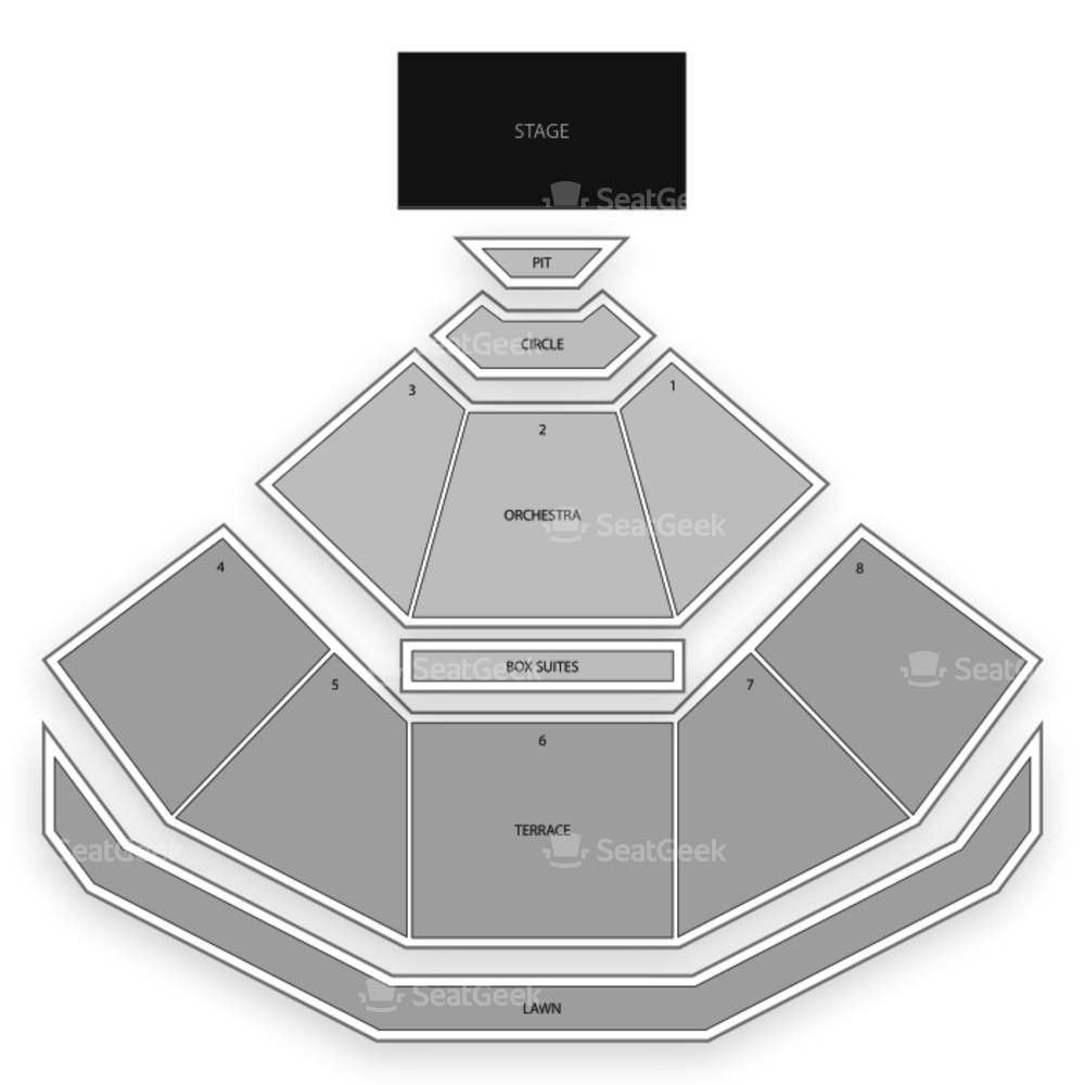 Pacific Amphitheatre Seating Chart Music Festival