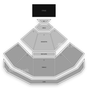 Pacific Amphitheatre Seating Chart Classical Orchestral Instrumental