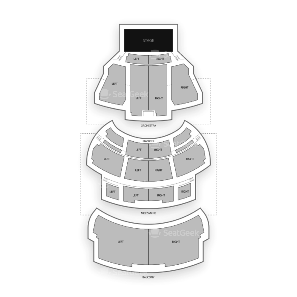 New York City Center Seating Chart Concert