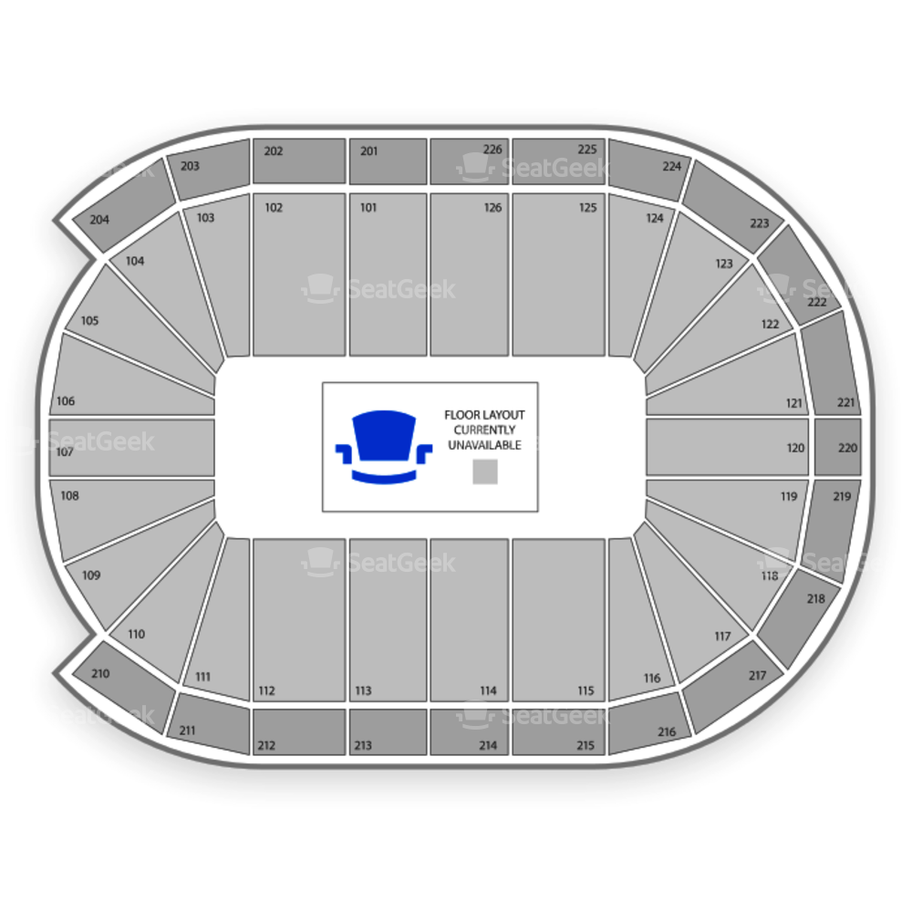 Maverik Center Seating Chart Family