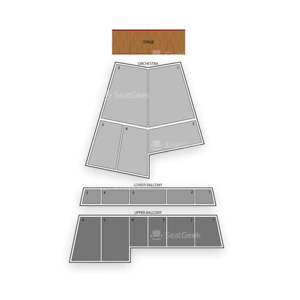 State Theatre Seating Chart Broadway Tickets National