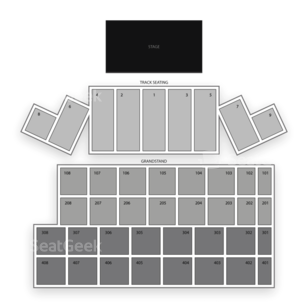 Wisconsin State Fair Park Seating Chart Theater