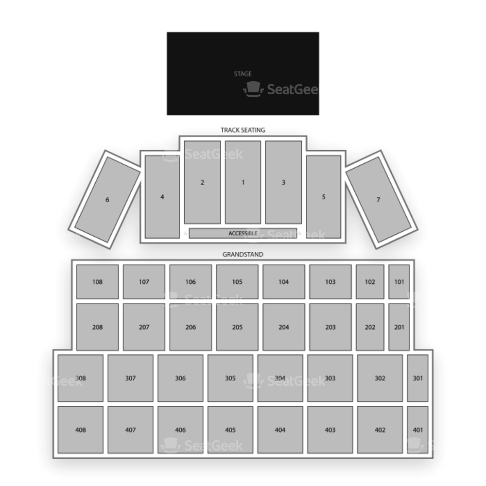 Wisconsin State Fair Park Seating Chart Concert