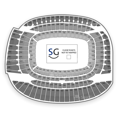 Soldier Field seating chart Spring Awakening Festival