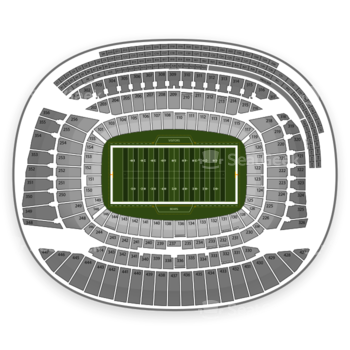 NCAA Football at Soldier Field H View