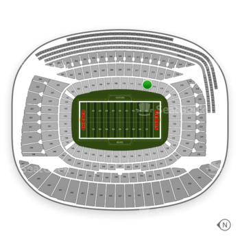 Chicago Bears at Soldier Field Section 113 View