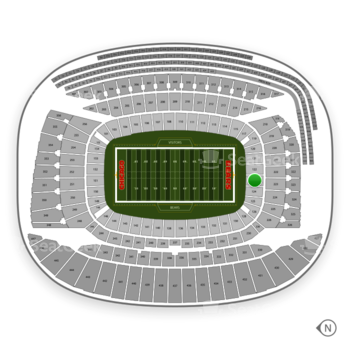Chicago Bears at Soldier Field Section 123 View