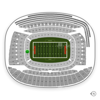 Chicago Bears at Soldier Field Section 151 View