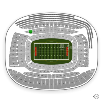 Chicago Bears at Soldier Field Section 203 View