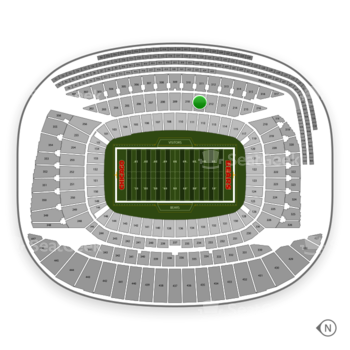 Chicago Bears at Soldier Field Section 211 View