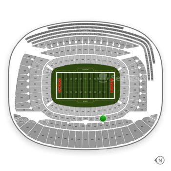 Chicago Bears at Soldier Field Section 233 View