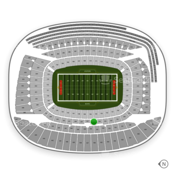Chicago Bears at Soldier Field Section 235 View
