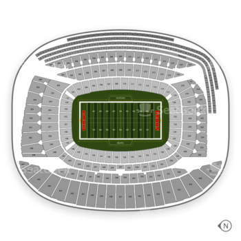NCAA Football at Soldier Field Gl View