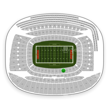 Chicago Bears at Soldier Field Section 133 View