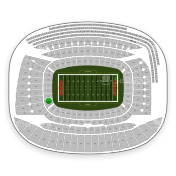 Chicago Bears at Soldier Field Section 149 View