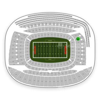 Chicago Bears at Soldier Field Section 219 View