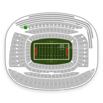 Chicago Bears at Soldier Field Section 302 View