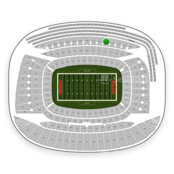 Chicago Bears at Soldier Field Section 312 View