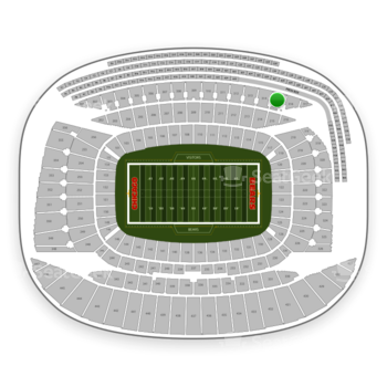 Chicago Bears at Soldier Field Section 315 View