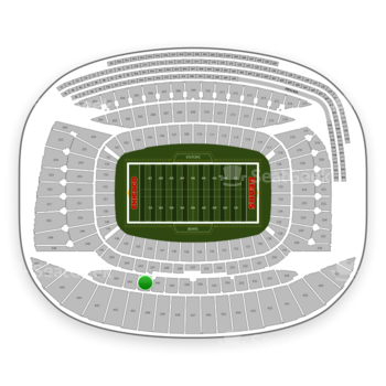 Chicago Bears at Soldier Field Section 341 View