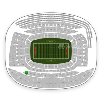 Chicago Bears at Soldier Field Section 344 View