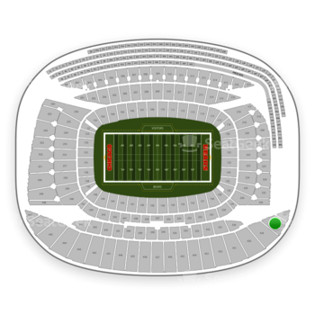 Chicago Bears at Soldier Field Section 428 View