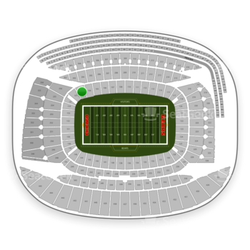 Chicago Bears at Soldier Field Section 103 View