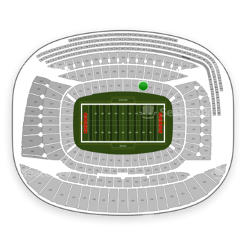 Chicago Bears at Soldier Field Section 112 View