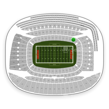 Chicago Bears at Soldier Field Section 115 View