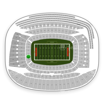 Chicago Bears at Soldier Field Section 150 View
