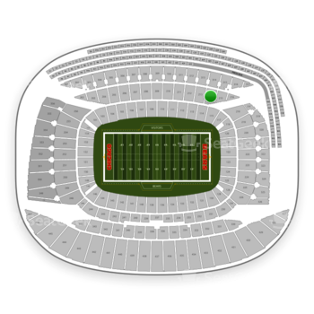 Chicago Bears at Soldier Field Section 214 View