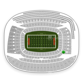 Chicago Bears at Soldier Field Section 226 View