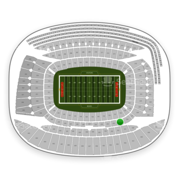 Chicago Bears at Soldier Field Section 231 View