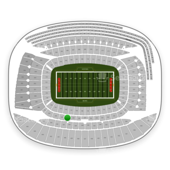 Chicago Bears at Soldier Field Section 241 View