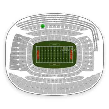 Chicago Bears at Soldier Field Section 306 View