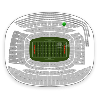 Chicago Bears at Soldier Field Section 313 View