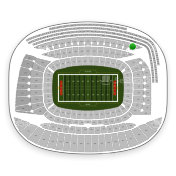 Chicago Bears at Soldier Field Section 316 View