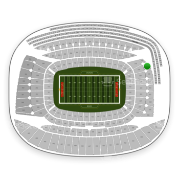Chicago Bears at Soldier Field Section 319 View
