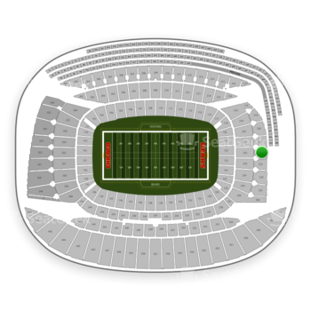 Chicago Bears at Soldier Field Section 322 View