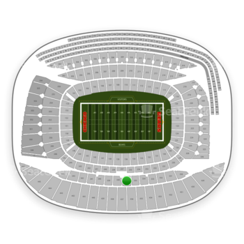 Chicago Bears at Soldier Field Section 336 View