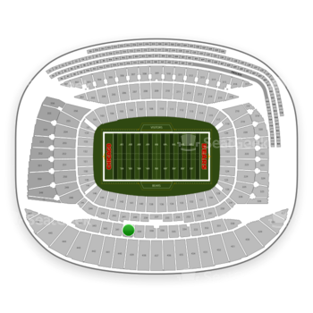 Chicago Bears at Soldier Field Section 340 View