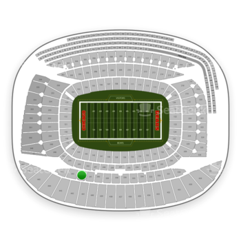Chicago Bears at Soldier Field Section 342 View