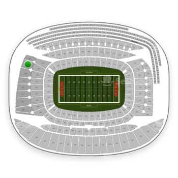 Chicago Bears at Soldier Field Section 355 View